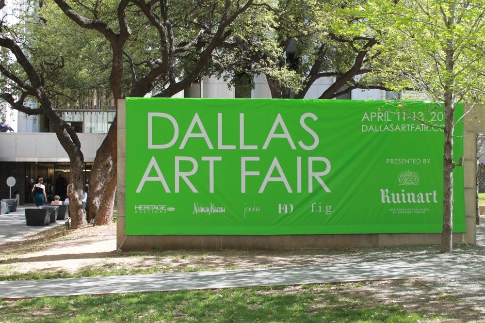 Dallas Art Fair Signage