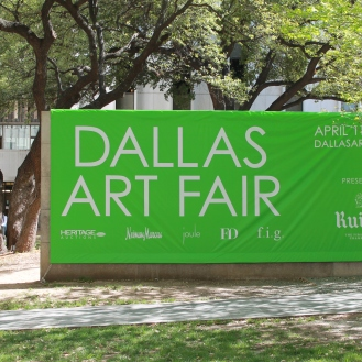 Dallas Art Fair Signage